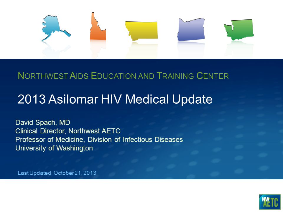 2013 Asilomar HIV Medical Update