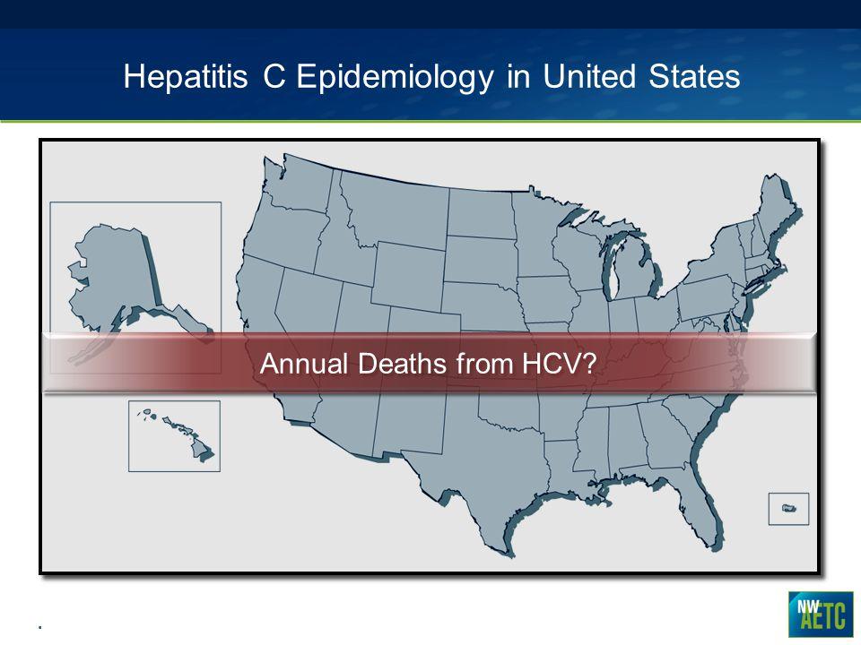 Hepatitis C Epidemiology in United States