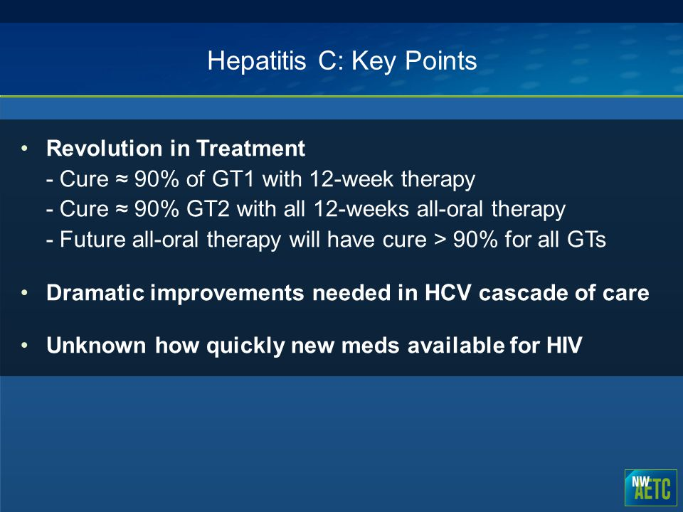 Hepatitis C: Key Points