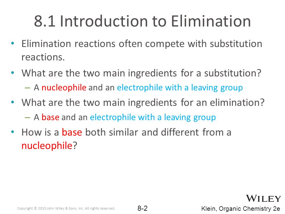 8.1 Introduction to Elimination
