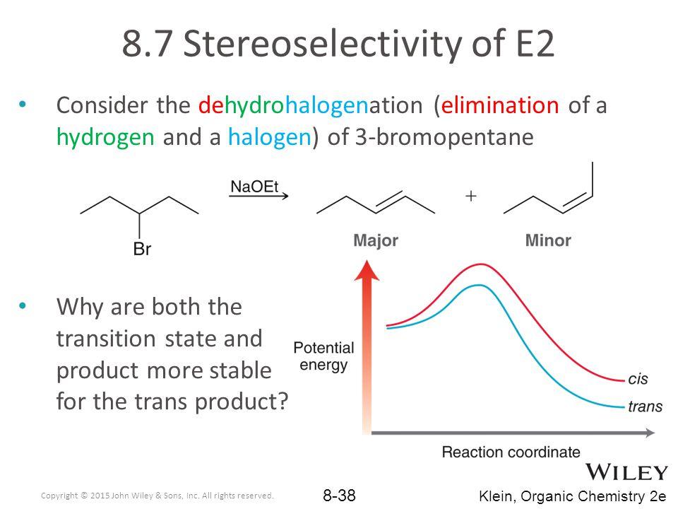 8.7 Stereoselectivity of E2