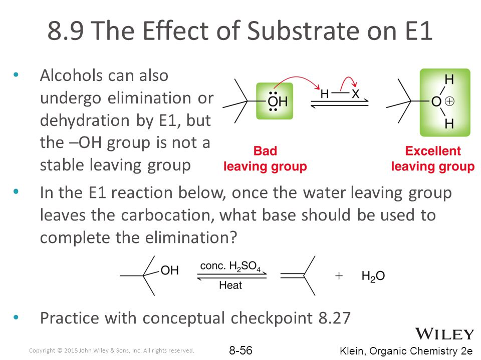 8.9 The Effect of Substrate on E1
