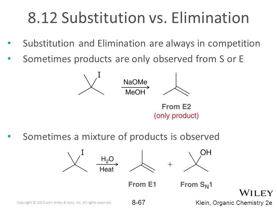 8.12 Substitution vs. Elimination