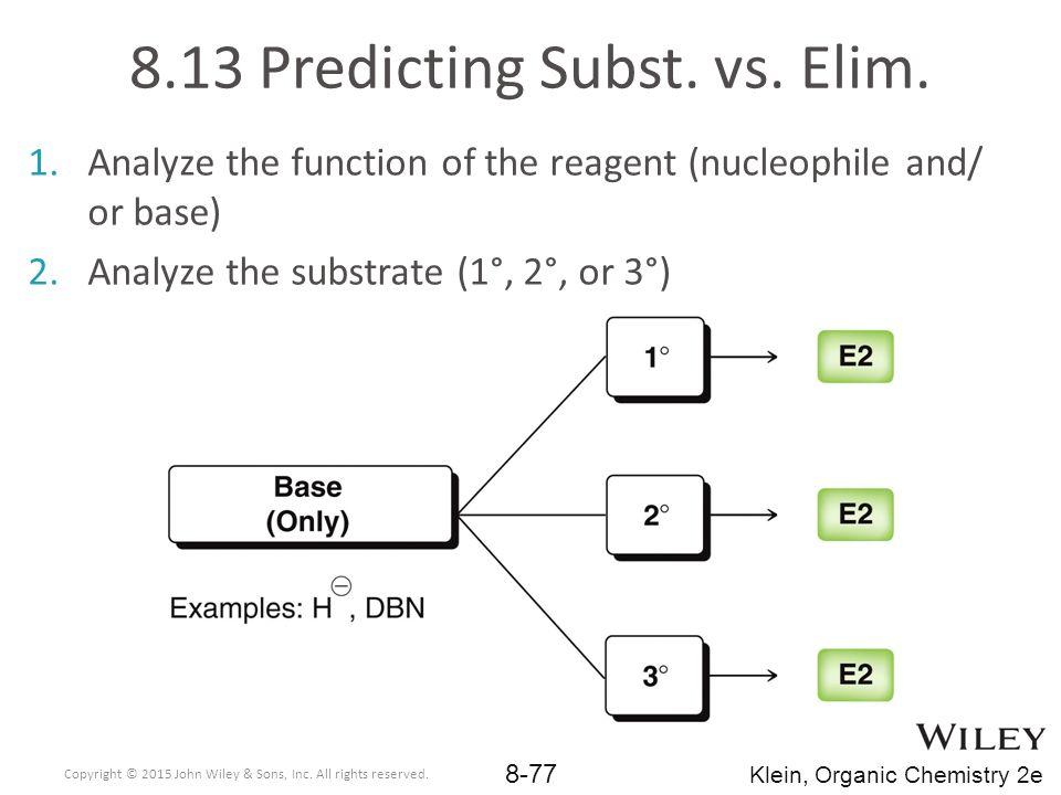 8.13 Predicting Subst. vs. Elim.