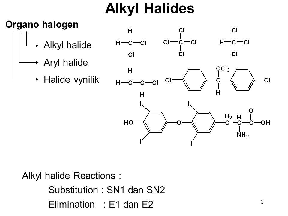 Alkyl Halides Organo halogen Alkyl halide Aryl halide Halide vynilik