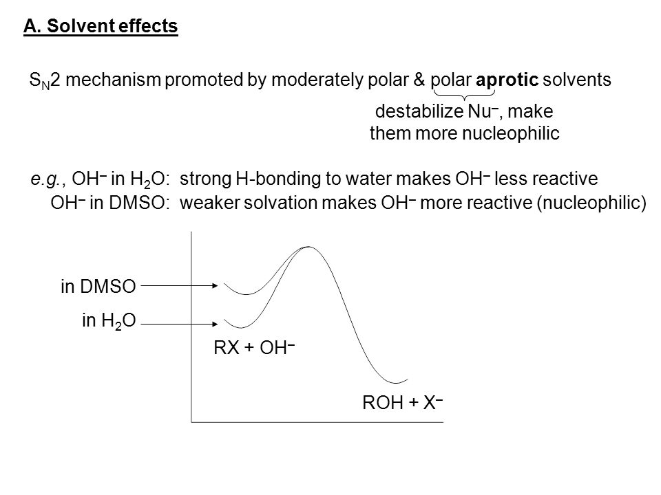 them more nucleophilic