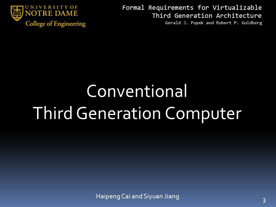 Third Generation Computer