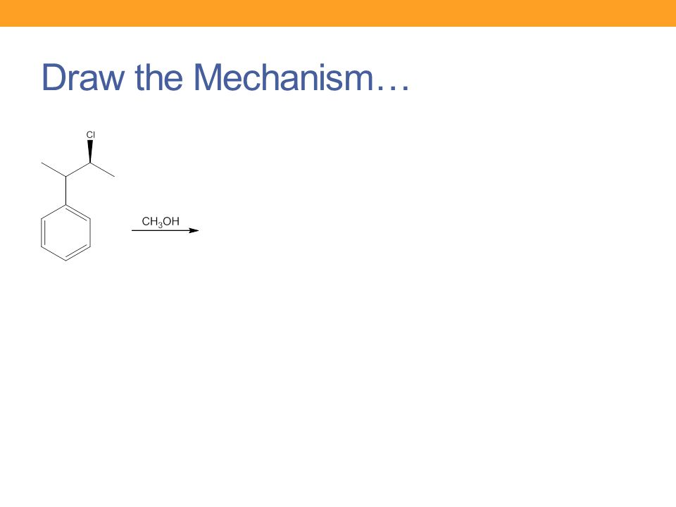 Draw the Mechanism…