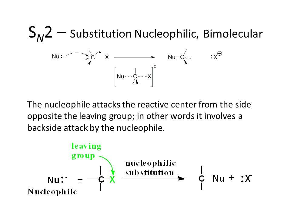 SN2 – Substitution Nucleophilic, Bimolecular