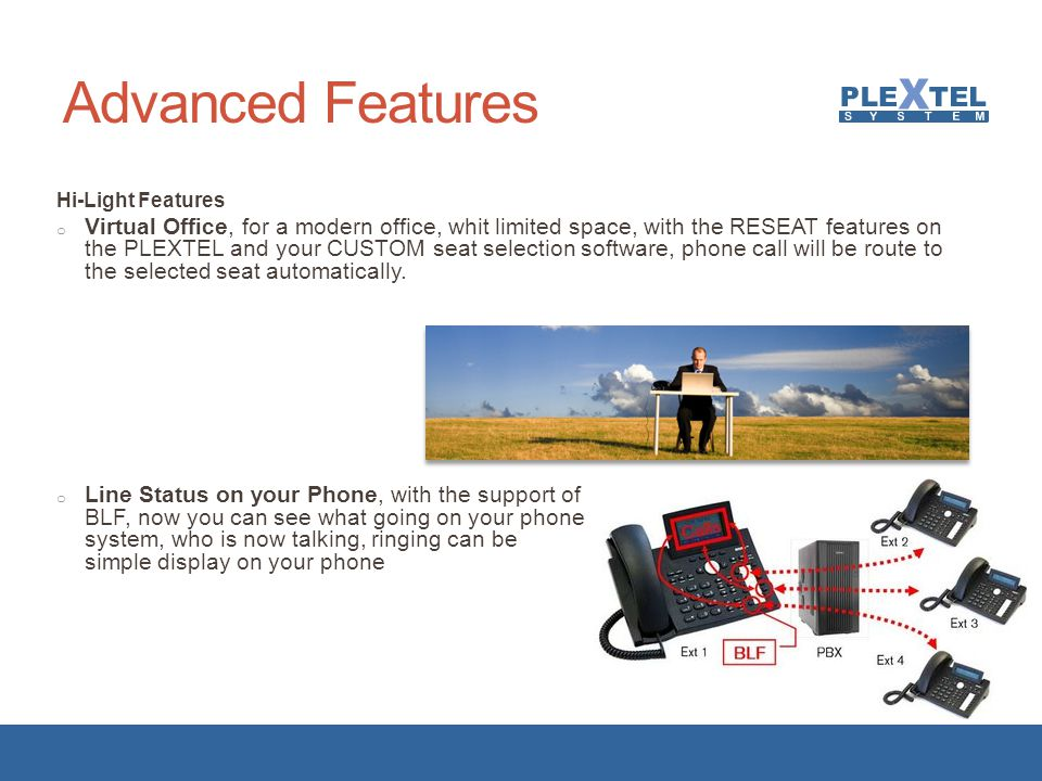 Advanced Features Hi-Light Features.