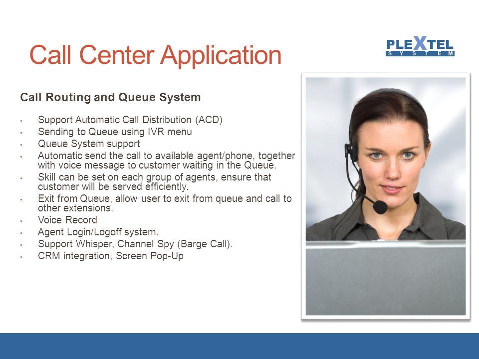 Call Center Application
