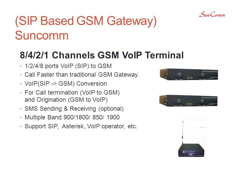 (SIP Based GSM Gateway) Suncomm