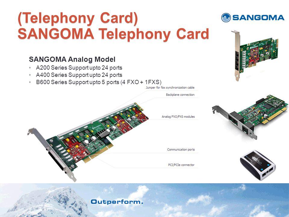 (Telephony Card) SANGOMA Telephony Card