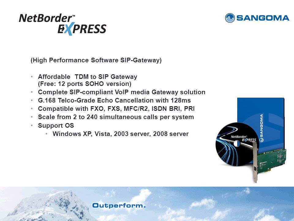 (High Performance Software SIP-Gateway)