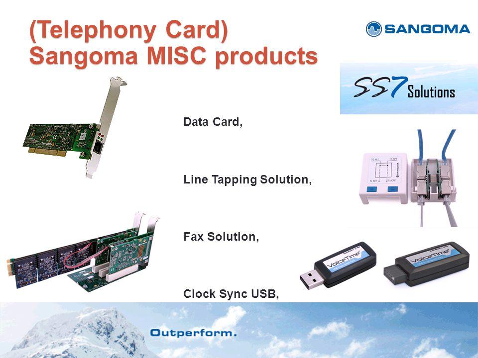(Telephony Card) Sangoma MISC products