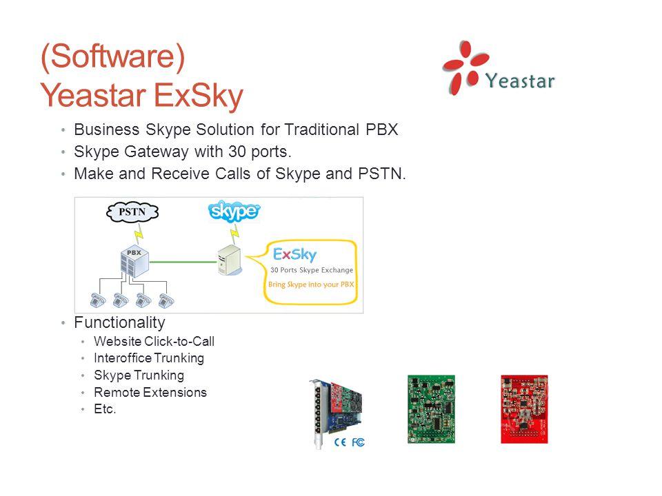 (Software) Yeastar ExSky