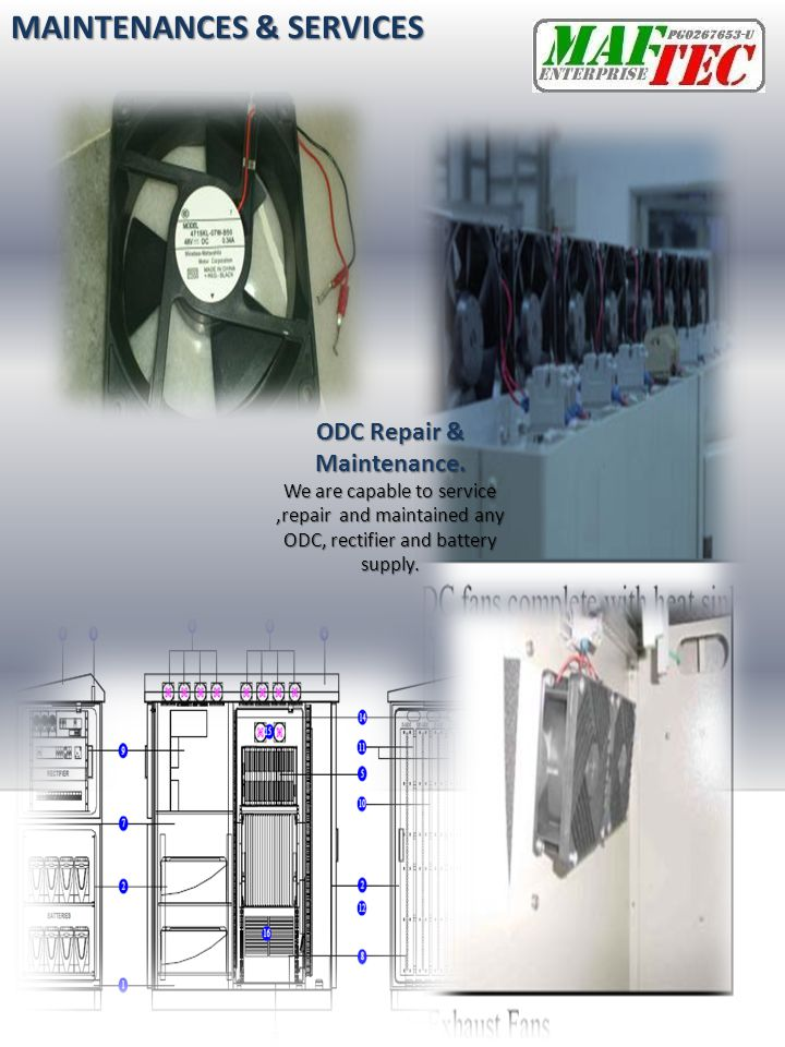 ODC Repair & Maintenance.