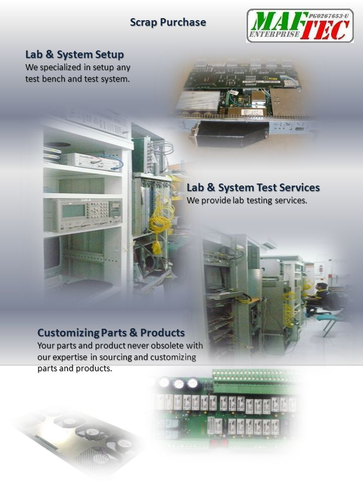 Lab & System Test Services
