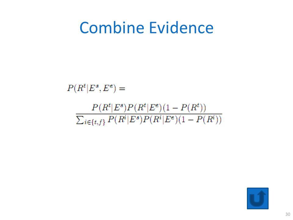 Combine Evidence