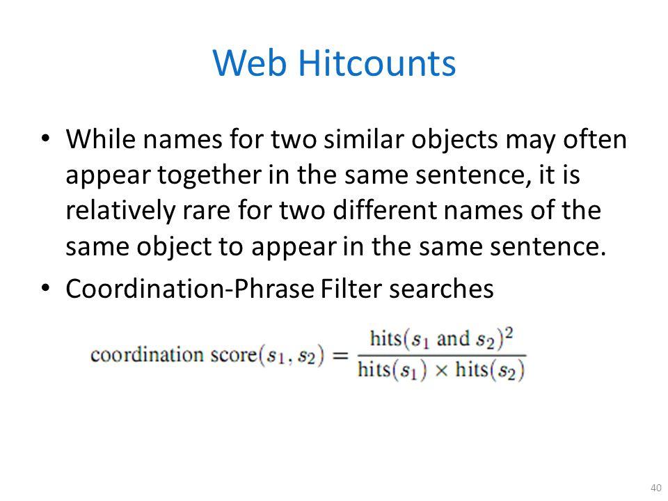 Web Hitcounts
