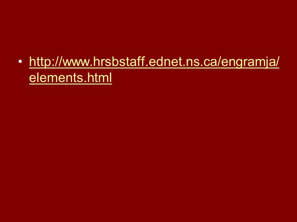 http://www.hrsbstaff.ednet.ns.ca/engramja/elements.html