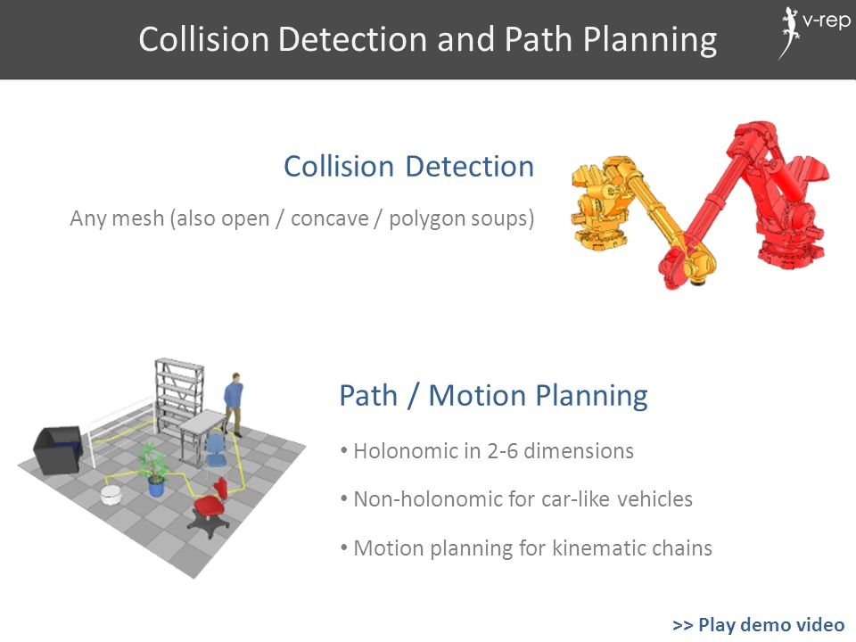 Collision Detection and Path Planning