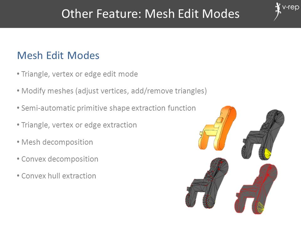 Other Feature: Mesh Edit Modes
