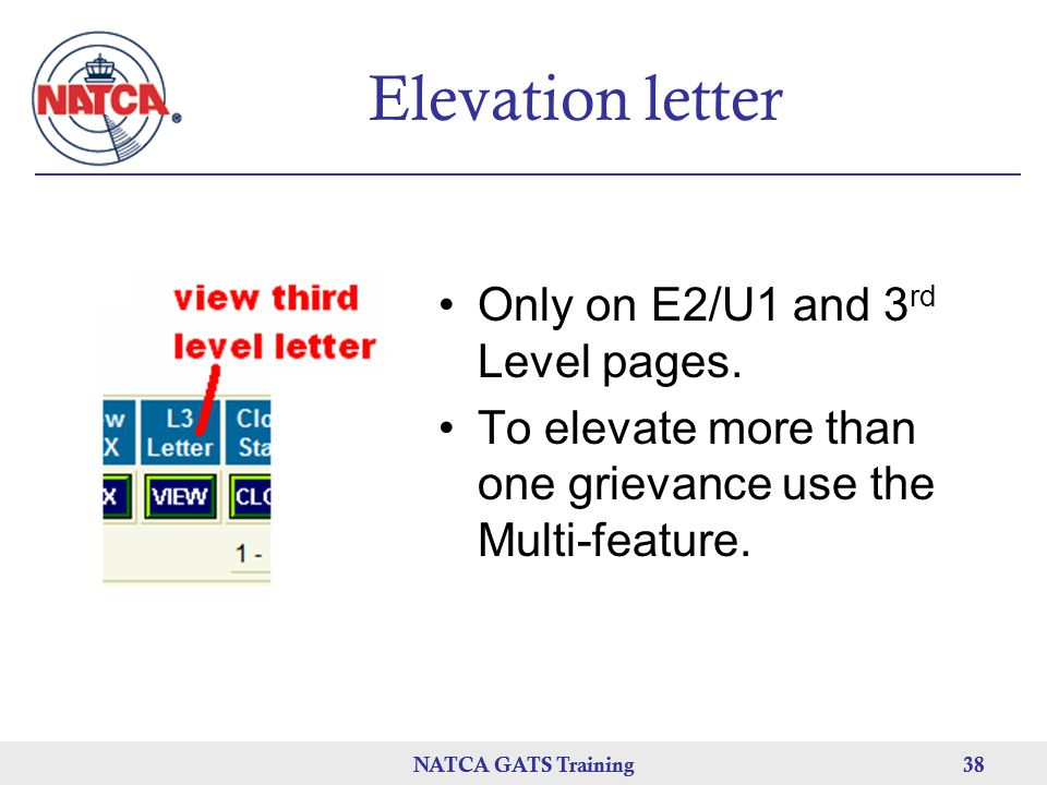 Elevation letter Only on E2/U1 and 3rd Level pages.