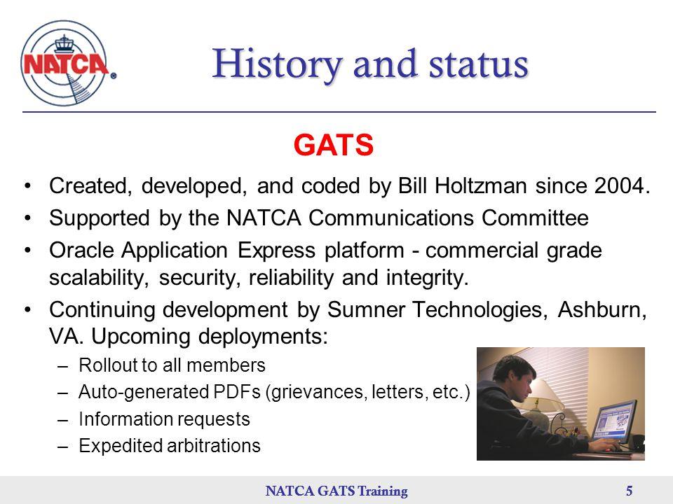 History and status GATS