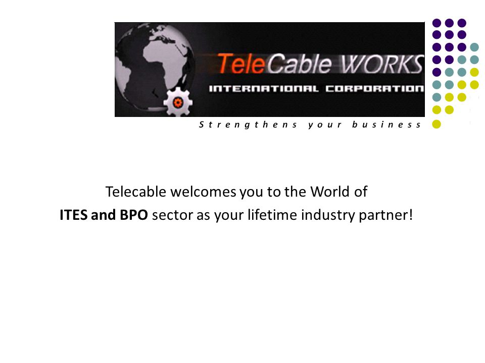 Telecable welcomes you to the World of