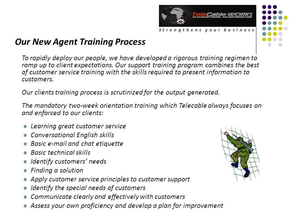 Our New Agent Training Process
