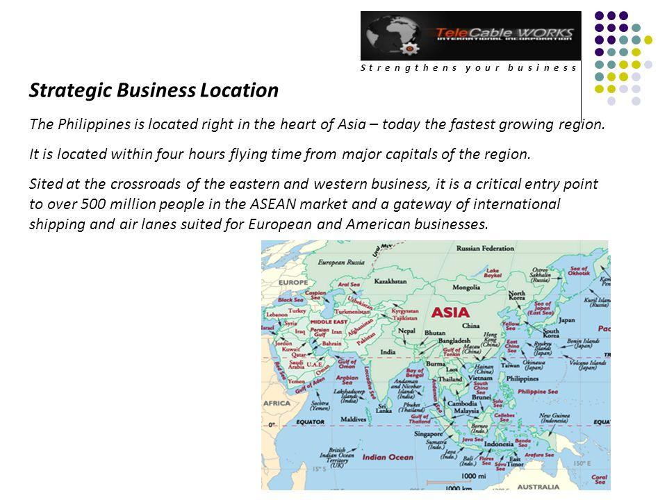 Strategic Business Location