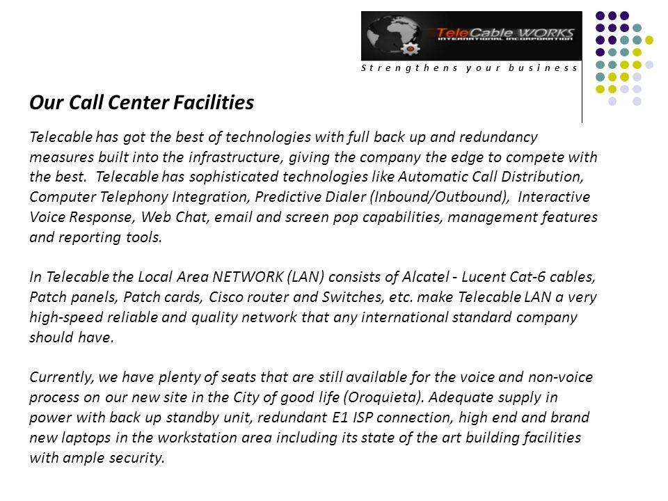 Our Call Center Facilities