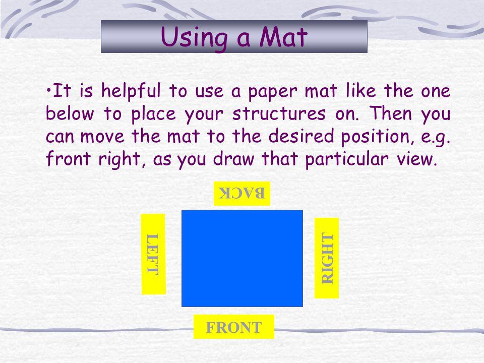 Using a Mat