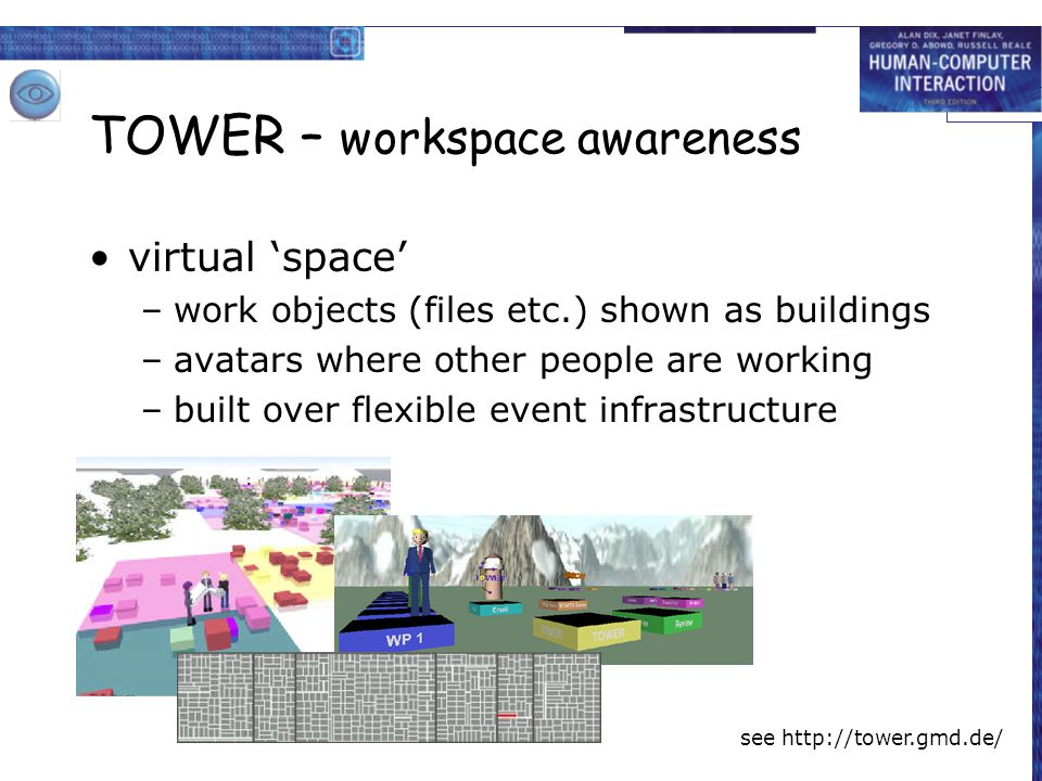 TOWER – workspace awareness
