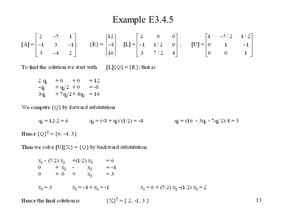 Example E3.4.5