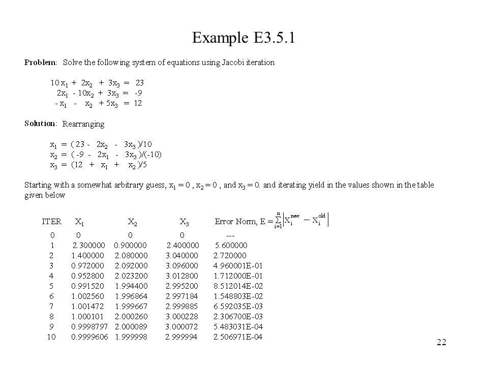 Example E3.5.1