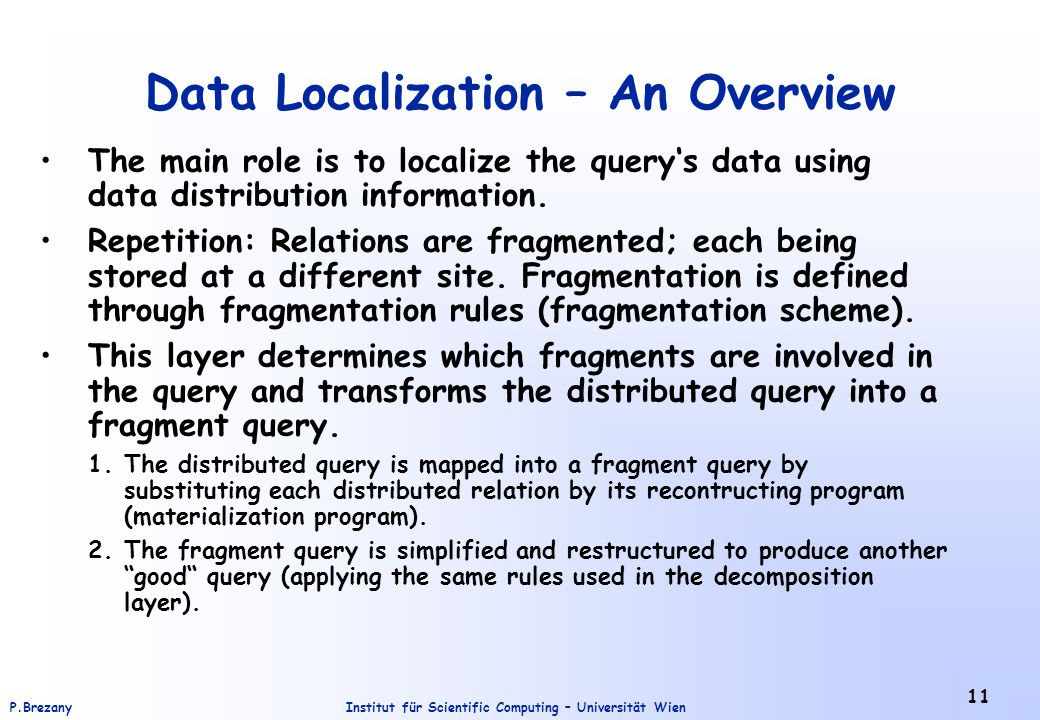 Data Localization – An Overview