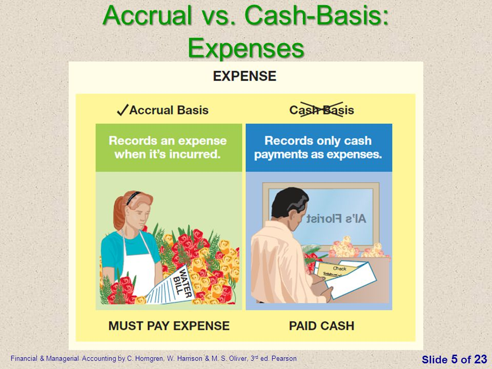 Accrual vs. Cash-Basis: Expenses