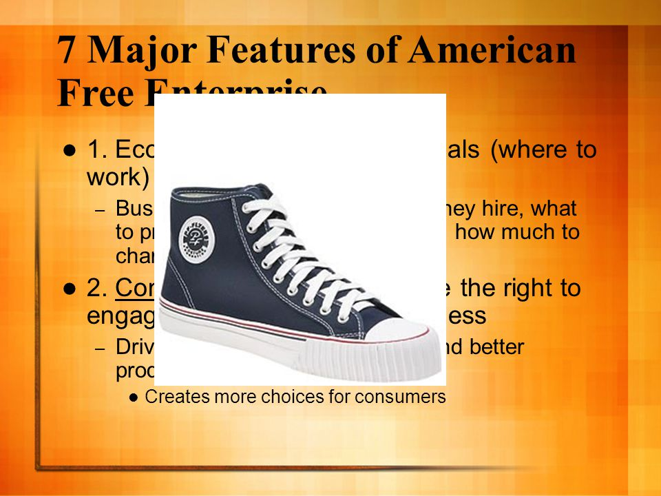 7 Major Features of American Free Enterprise