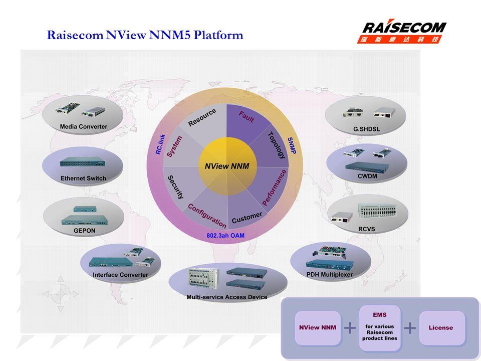 Raisecom NView NNM5 Platform