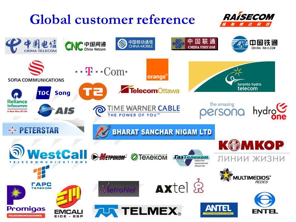 Global customer reference