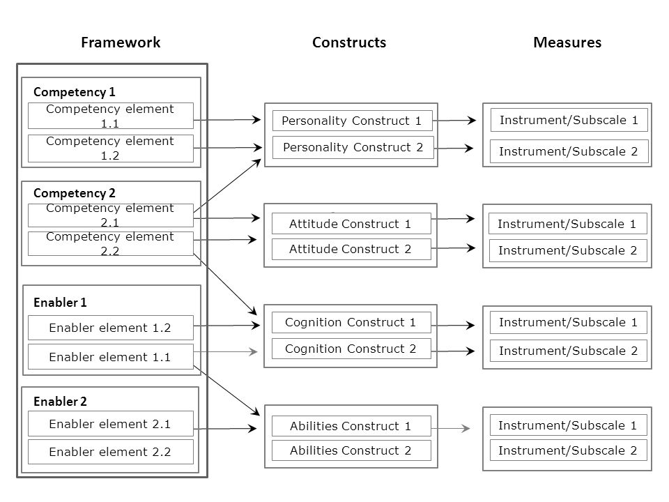 Framework Constructs Measures