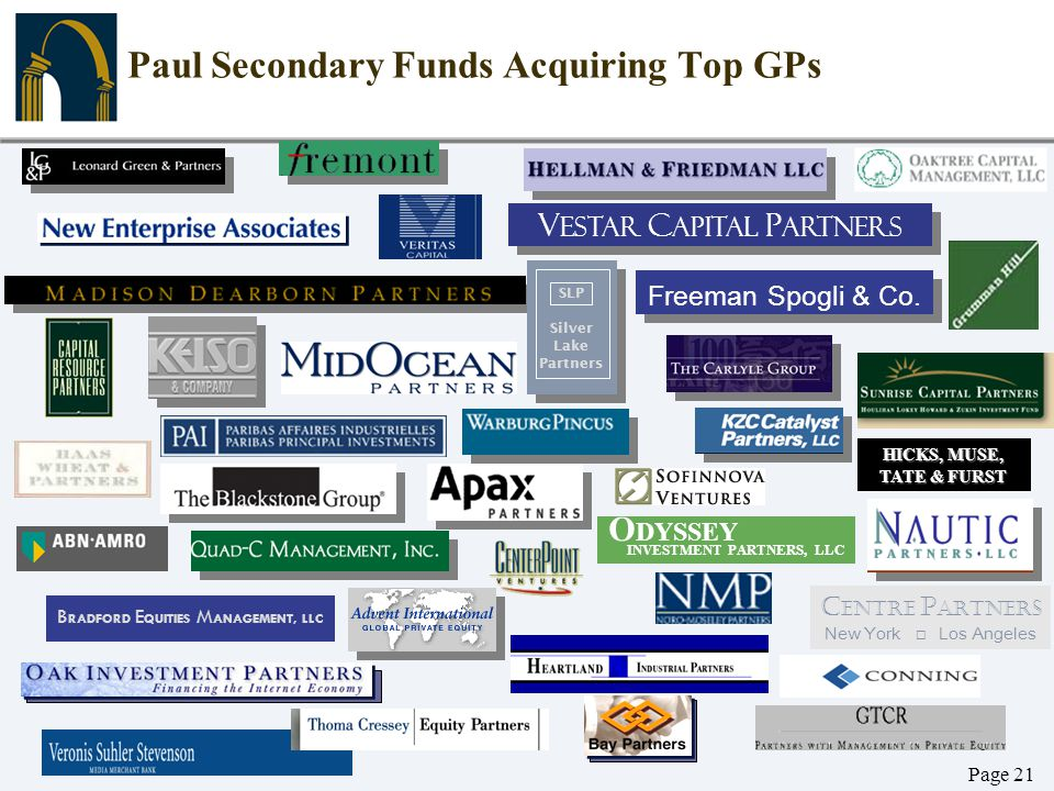 Paul Secondary Funds Acquiring Top GPs