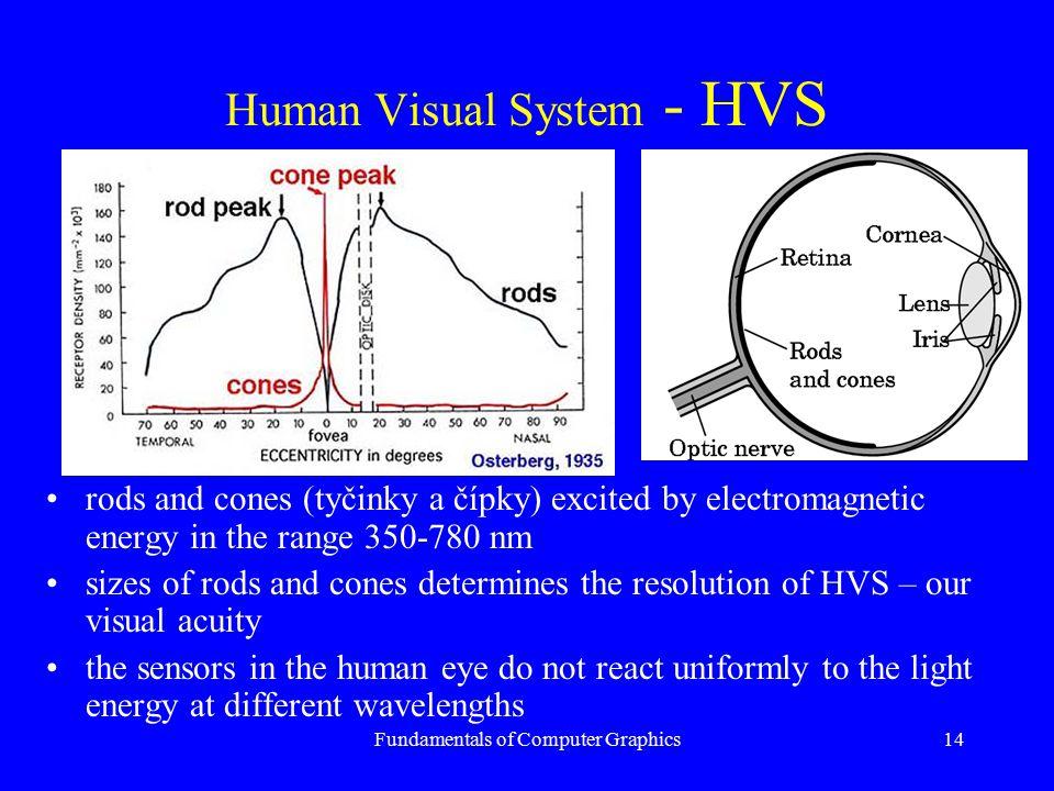 Human Visual System - HVS