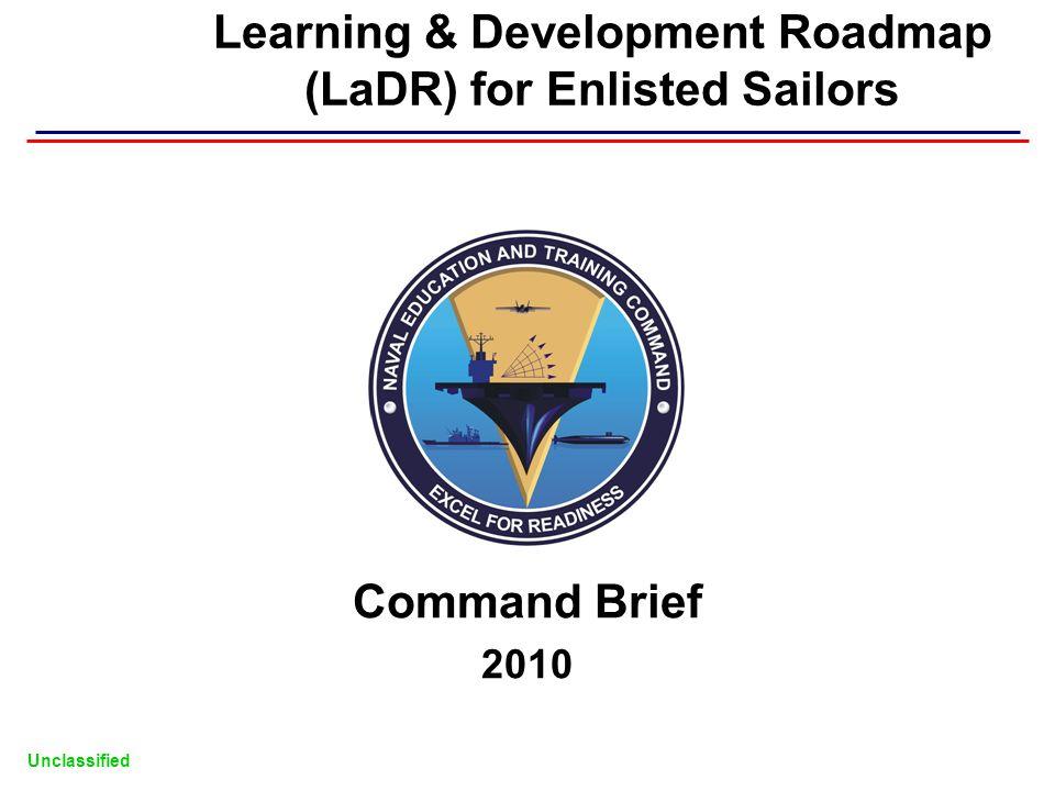 Learning & Development Roadmap (LaDR) for Enlisted Sailors
