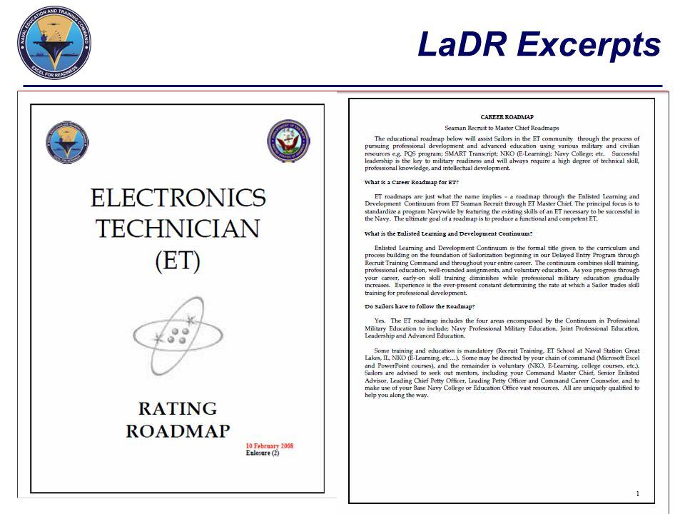 LaDR Excerpts