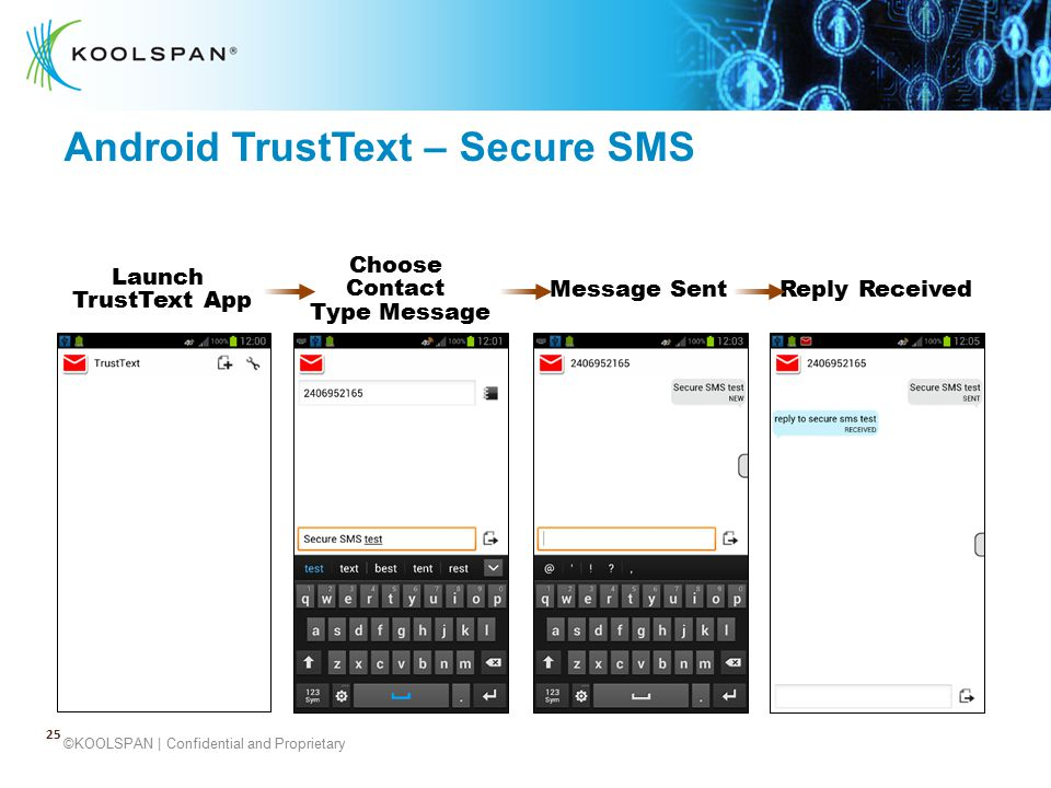 Android TrustText – Secure SMS
