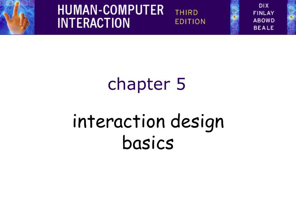 interaction design basics
