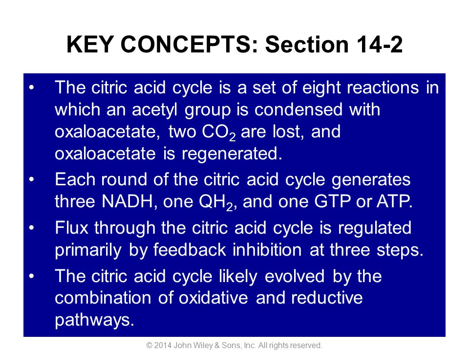 KEY CONCEPTS: Section 14-2